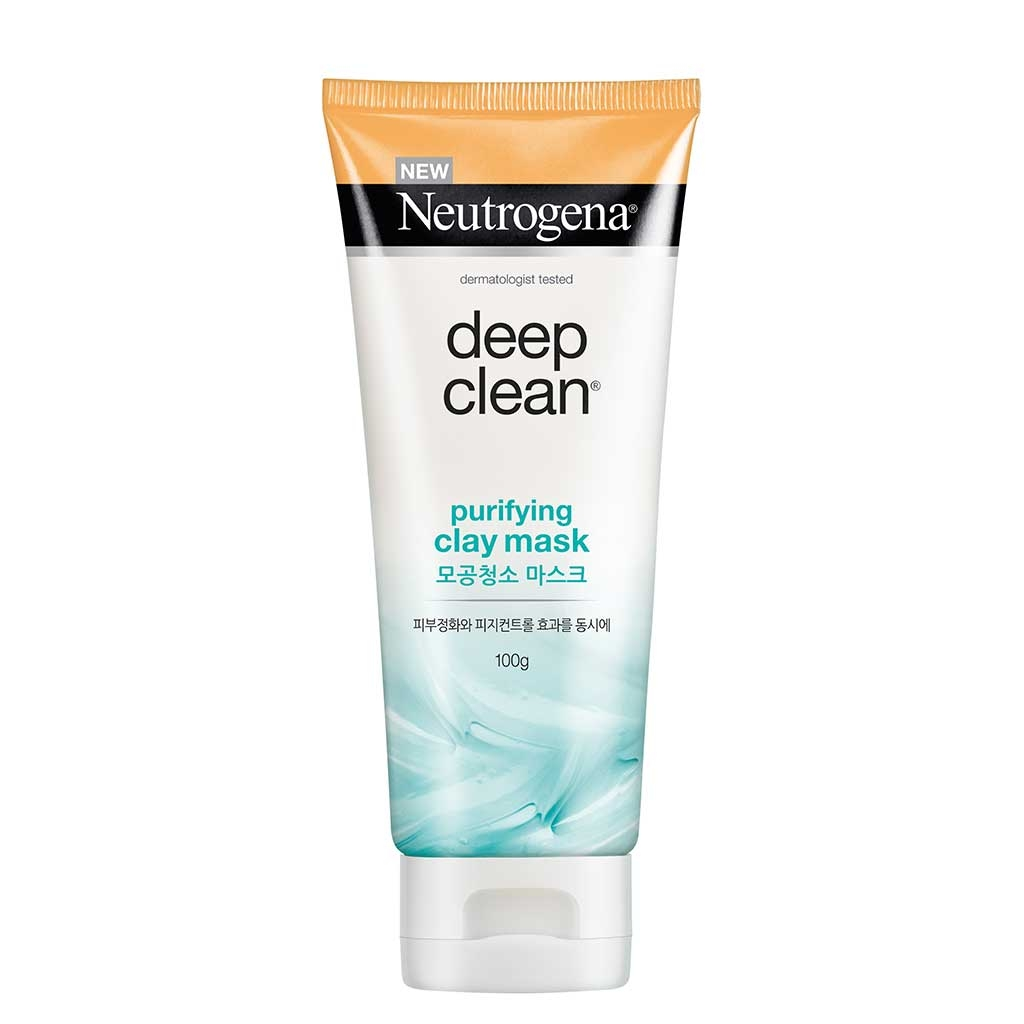 Neutrogena Deep Clean® Purifying Clay Cleanser and Mask 100g